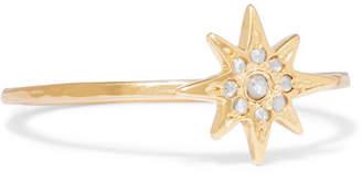 Chan Luu Gold-plated Diamond Ring