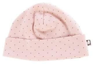 Oeuf Girls' Polka Dot Print Beanie