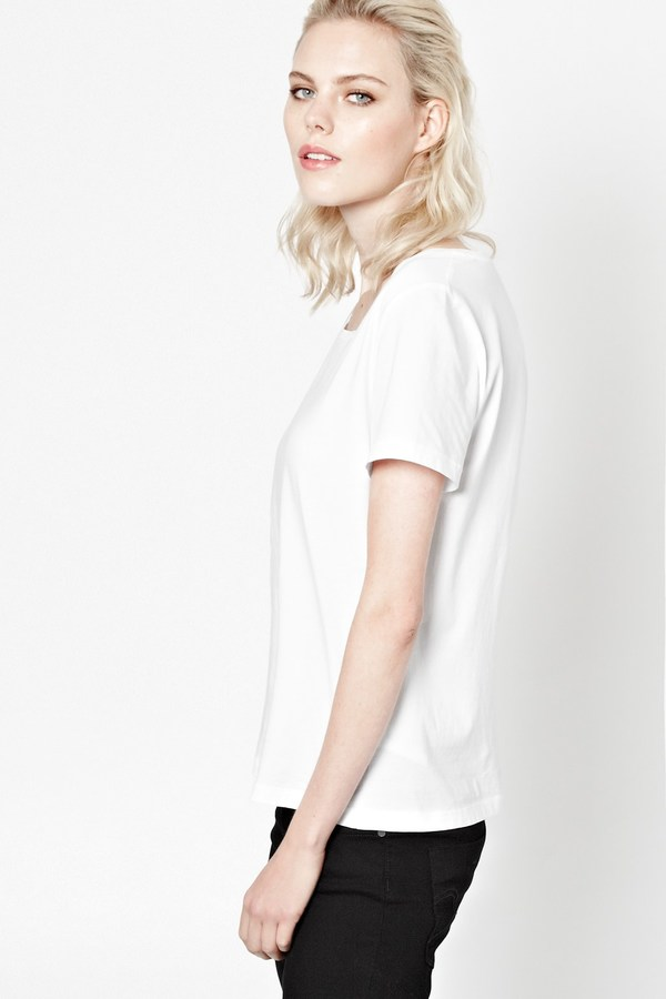 French Connection Kristal Cotton Top