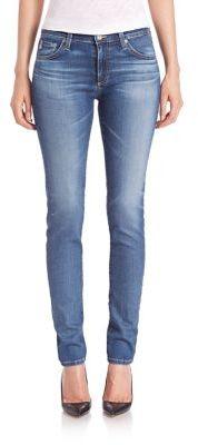 AG Prima Mid-Rise Cigarette Jeans $215 thestylecure.com