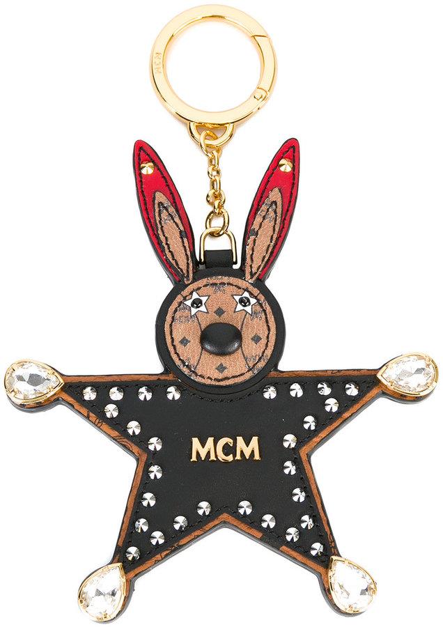 MCMMCM bunny star keyring