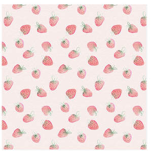 Strawberry Daydream Self-Launch Wrapping Paper