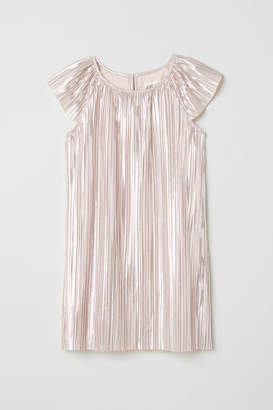 H&M Pleated Dress - Pink