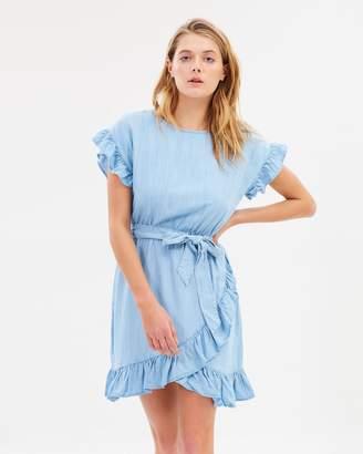 Sass Under Wraps Lyocell Dress