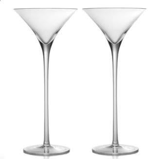 William Yeoward Crystal Lillian Tall Martini Glass, Set of 2