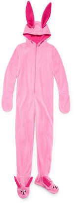 story. LICENSED PROPERTIES A Christmas Bunny One Piece Pajamas - Big Kid