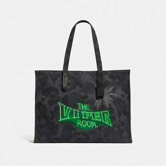 Coach Viper Room Tote 42 With Wild Beast Print