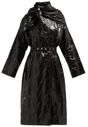 Moncler 2 1952 - Canberra Diamond Quilted Coat - Womens - Black