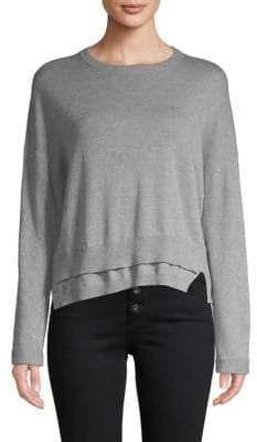 Inhabit Double Hem Cotton Sweater
