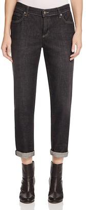Eileen Fisher Boyfriend Jeans in Vintage Black $178 thestylecure.com