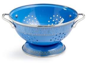 Martha Stewart Collection La Dolce Vita 3-Qt. Blue Colander, Created for Macy's