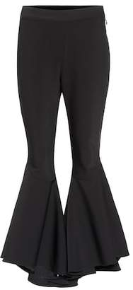 Ellery Sinuous wool-blend cropped trousers
