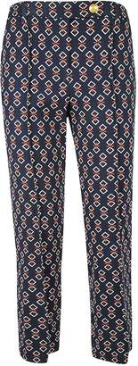 Tory Burch Printed Tailored Trousers