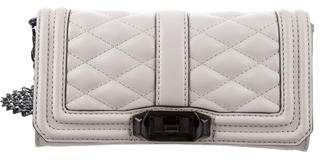 Rebecca Minkoff Mini Chevron Quilted Love Crossbody Bag