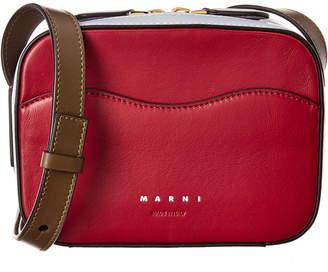 Marni Shell Box Bag Leather Crossbody