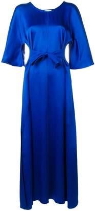 Forte Forte tie front maxi dress