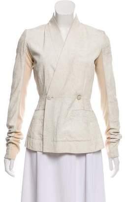 Rick Owens Tailored Textured Blazer