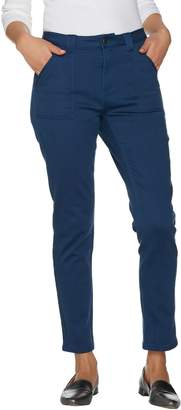 Isaac Mizrahi Live! TRUE DENIM Regular Colored Denim Ankle Jeans