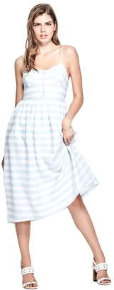 GUESS Caterina Striped Dress $108.91 thestylecure.com
