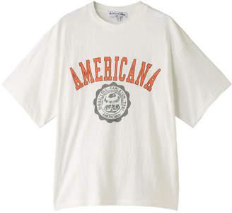 Americana (アメリカーナ) - アメリカーナ カレッジTシャツ(ヴィンテージ加工)