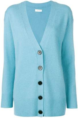 Calvin Klein long-sleeve fitted cardigan