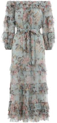 Zimmermann Tempest Ruffle Dress