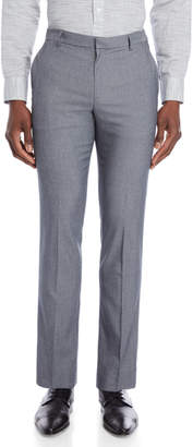 Perry Ellis Grey Slim Stretch Dress Pants
