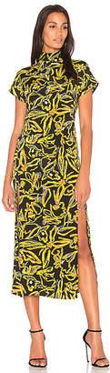 Diane von Furstenberg Side Slit Dress