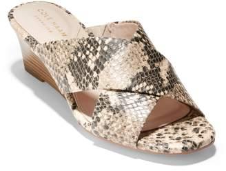 c3c8470d981 Cole Haan Beige Leather Straps Women s Sandals - ShopStyle