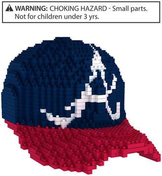 Forever Collectibles Atlanta Braves Brxlz 3D Baseball Cap Puzzle