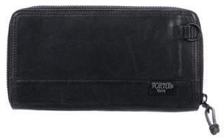 Co Porter-Yoshida & Leather Zip Wallet