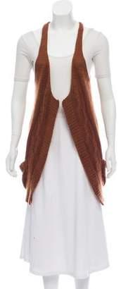 Rodarte Knit Open Front Vest