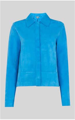 Whistles Turner Clean Suede Jacket