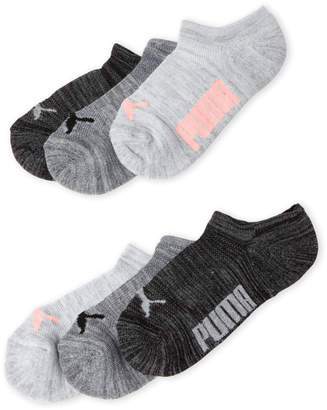 Puma 6-Pack No-Show Socks