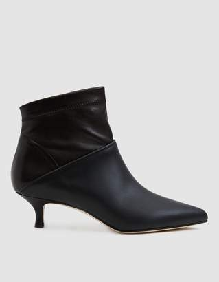 Tibi Jean Ankle Boot in Black