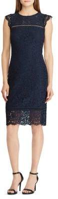 Lauren Ralph Lauren Lace Sheath Dress