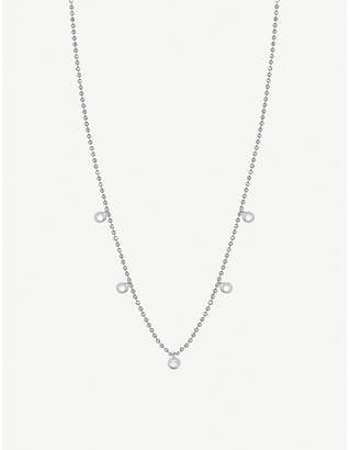 The Alkemistry Kismet by Milka 14ct white gold and diamond necklace
