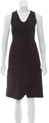 Derek Lam Sleeveless Wool Dress