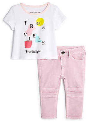 True Religion INFANT TRUE VIBES BABY SET
