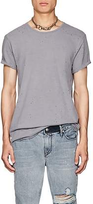 Ksubi Men's Kodeine Distressed Cotton Crewneck T-Shirt