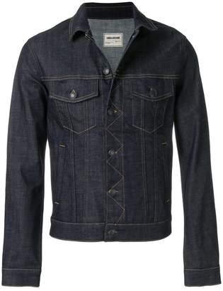 Zadig & Voltaire Zadig&Voltaire X Evan Ross Base Brut denim jacket