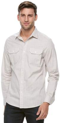 Apt. 9 Men's Premier Flex Slim-Fit Stretch Woven Button-Down Shirt