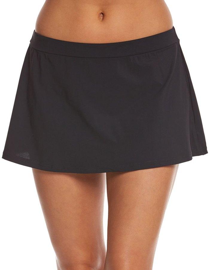 Profile by Gottex Solid Skirted Bikini Bottom 8156931