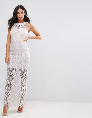 Paper Dolls Lace Maxi Dress