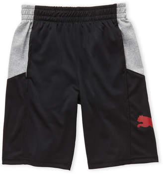 Puma Boys 8-20) Color Block Basketball Shorts