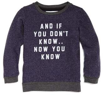 Sol Angeles Boys' Now You Know Pullover Shirt - Little Kid, Big Kid