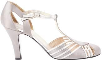 Bally Grey Cloth Heels