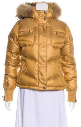 Toni Sailer Faux-Fur Trimmed Puffer Jacket