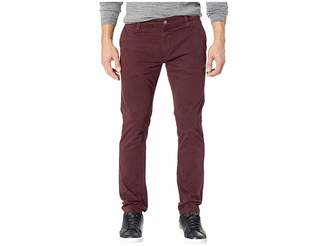 Mavi Jeans Johnny Slim Twill Chino in Burgundy Twill