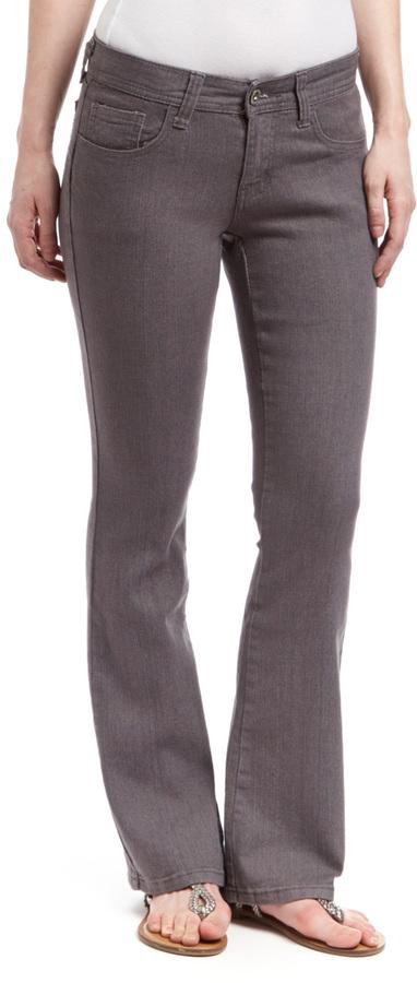 Gray Bootcut Jeans